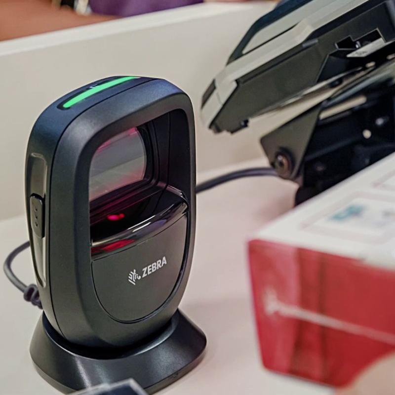 Máy quét mã vạch Zebra DS9308 chính hãng - megapos.vn